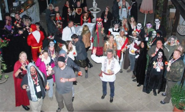 Sighisoara, the best Halloween party in Transylvania