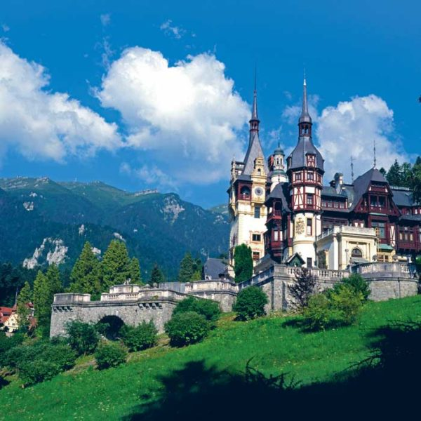 Peles Castle from Sinaia
