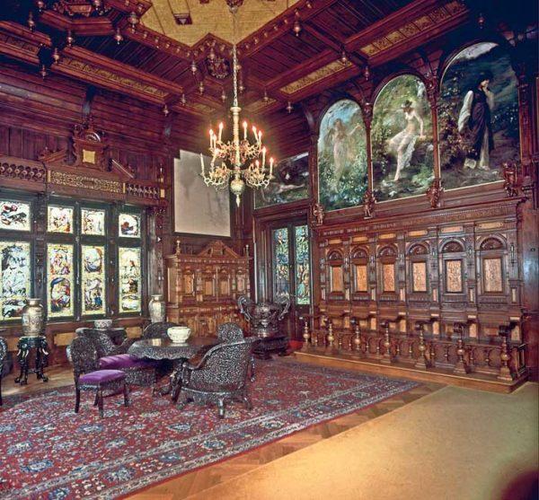 Peles Royal Castle interior, private trip to romania