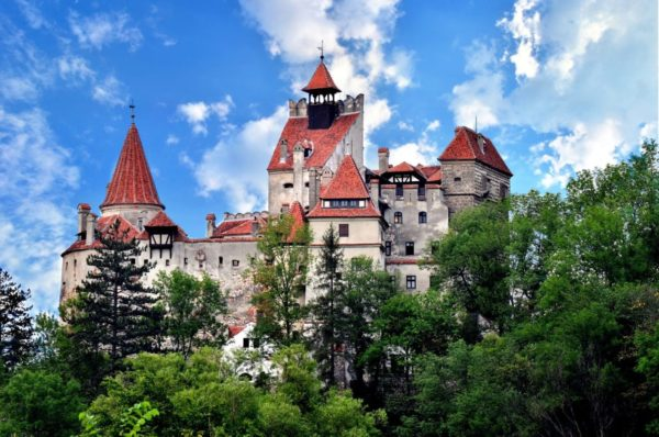 Bran Castle from Transylvania, Romania, seen in best of Romania tours