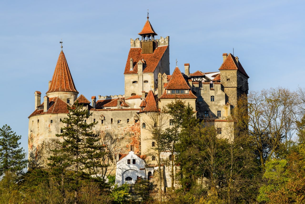 Bran Castle seen in Vampire in Transylvania Dracula tour and Best of Romania tours