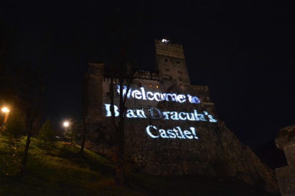 Bran castle Halloween party, private tour in Romania