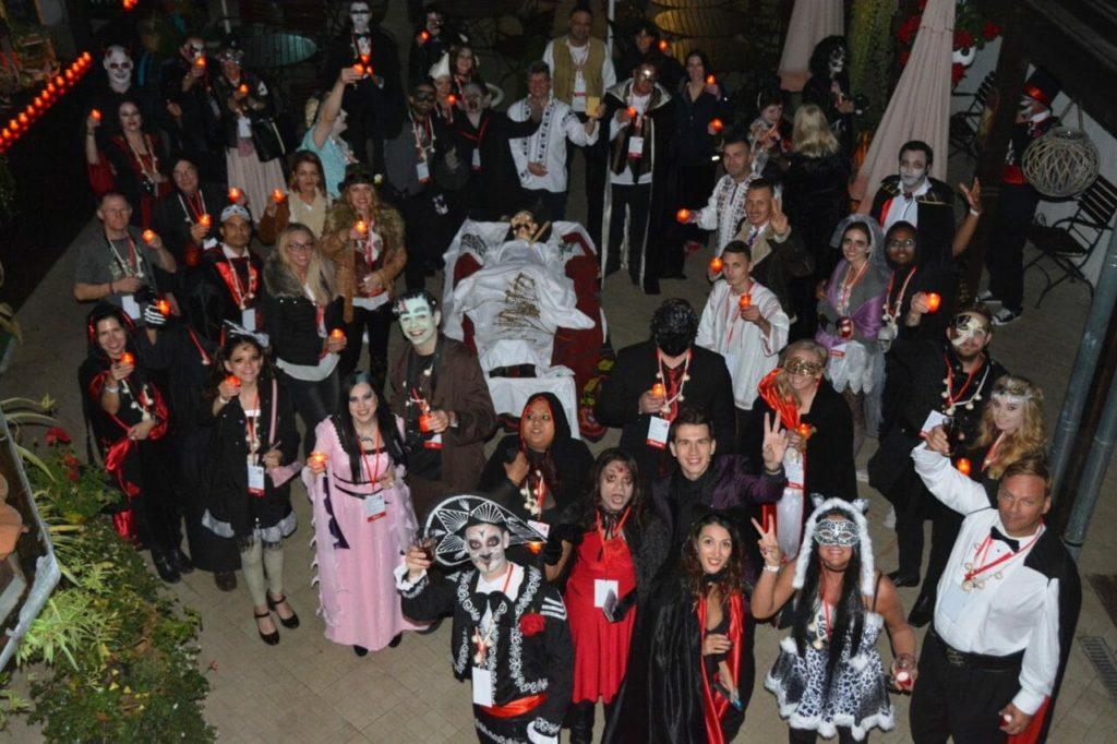 Halloween torus in Transylvania