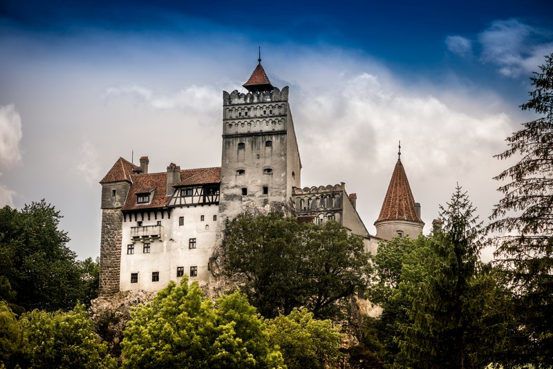 Royal lunch at Bran Castle