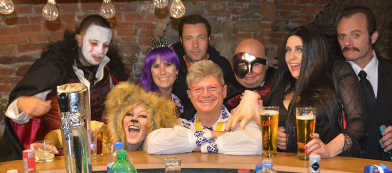 Open bar-Sighisoara Halloween Party-Dracula tour from Brasov