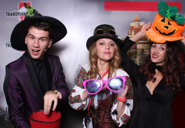 Magicians show at the best Halloween party in Transylvania-Sighisoara Halloween party