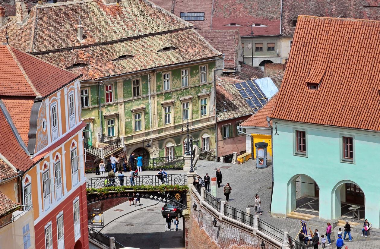 Liar's bridge Sibiu -Transylvania Dracula tour