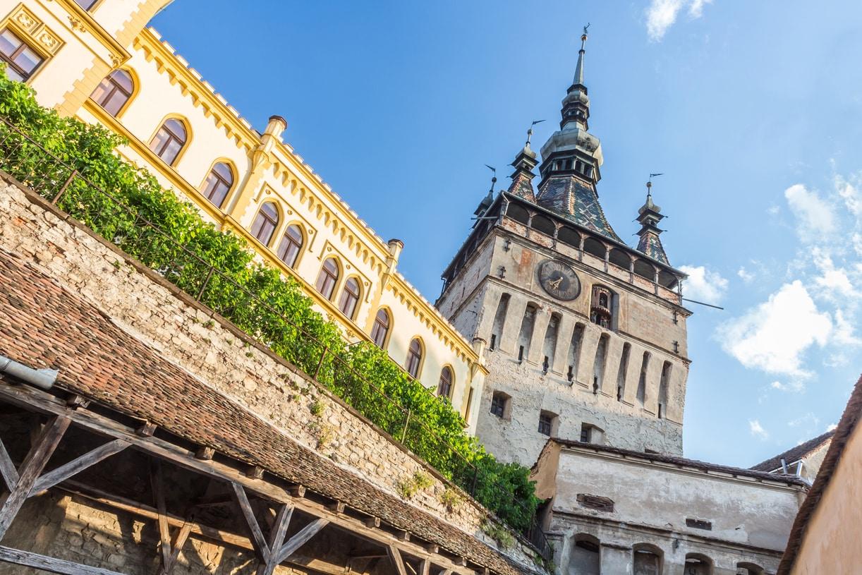 Sighisoara medieval citadel-Transylvania Dracula tour in Romania