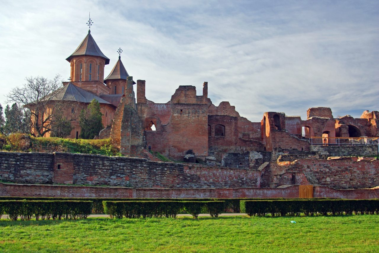 Targoviste Old Princely court, escorted tours Romania