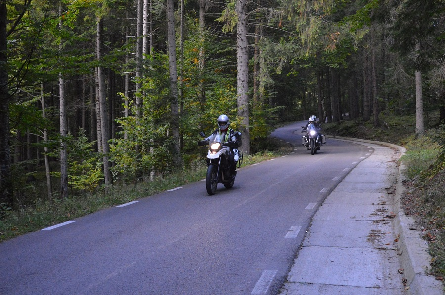 best of romania motorcycle tour